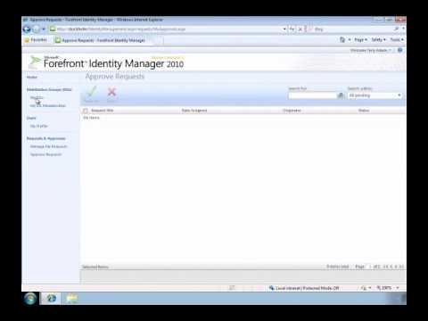Self-Service Group management with FIM