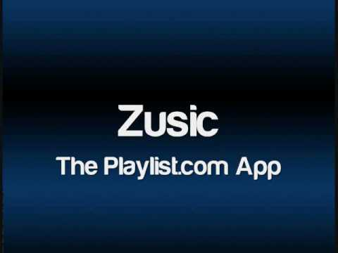 Zusic! The Playlist.com App for iPod Touch & iPhone