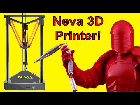 3D Printing the Praetorian Chain Whip with the NEVA by Dagoma