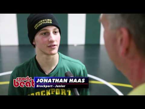 Spotlight Athlete - Jon Haas - College at Brockport Wrestling - 2-19-17