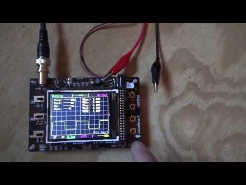 Sainsmart DS0238 Pocket Oscilloscope Kit Assembly & Review