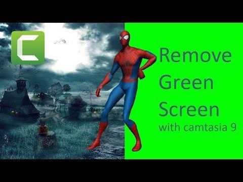 How to remove green screen in Camtasia Studio 9