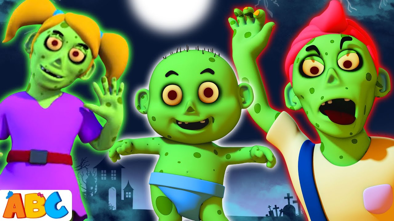 Zombie Finger Family   Halloween Songs For Children   All Babies Channel