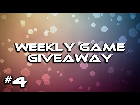 Game Giveaway Week 4 (CLOSED) + Week 3 Winner