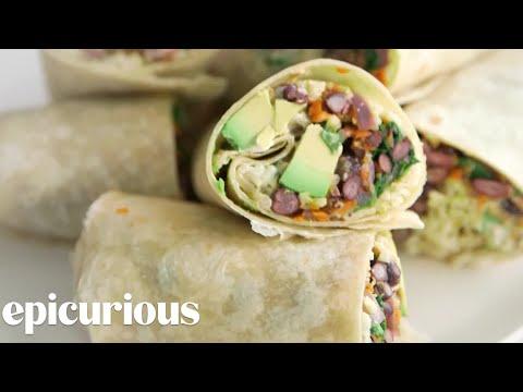 Make the Best Vegetarian Burrito Ever