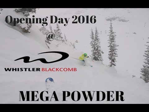 Whistler Opening Day 2017/2018, Mega Powder Again    skiing snowboarding powder winter
