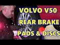 Volvo V50 Rear Brake Pads & Discs (Rotors)