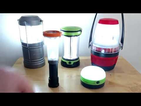 cheap camping lantern showdown!