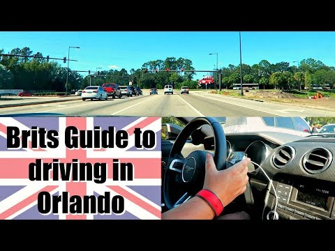 Brits guide to driving in Orlando