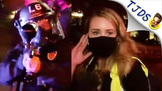 Cops Aim Straight For Reporters & Shoot Live On Air! w/Chris Hedges