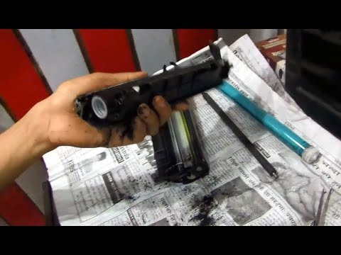 How To Refill Cannon LBP 2900 Cartiage 303, 103, 703