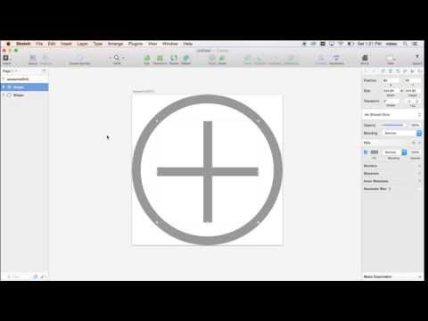 Tutorial 2 - How to create an SVG for Iconical in Sketch