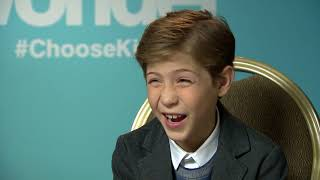 Jacob Tremblay on Transforming into Auggie Pullman in WONDER