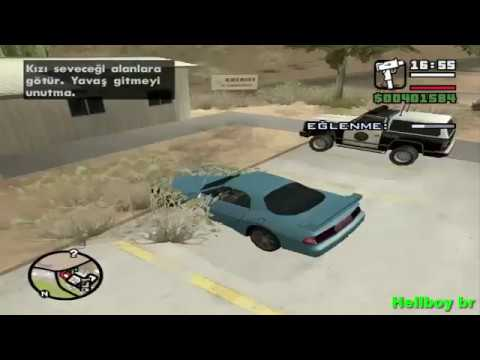 Hot Coffee   GTA San Andreas Mod Nova Namorada Barbara Schternvart