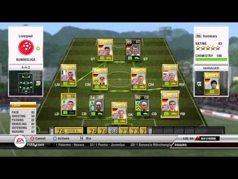 Fifa 12 Ultimate Team - Bundesliga Team