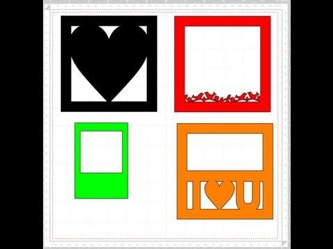 ScanNCut Canvas Creating Frames