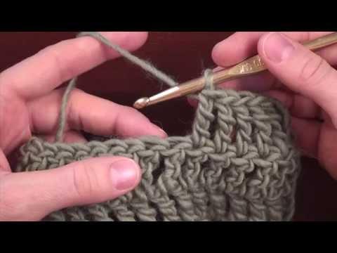 Crochet Decreases: Decrease 2 Stitches in Treble Crochet