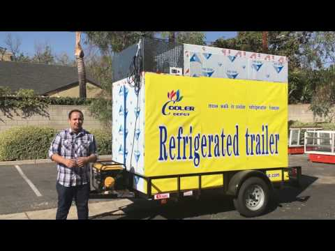refrigerated TRUCK VAN TRAILER COOLER REFRIGERATOR freezer
