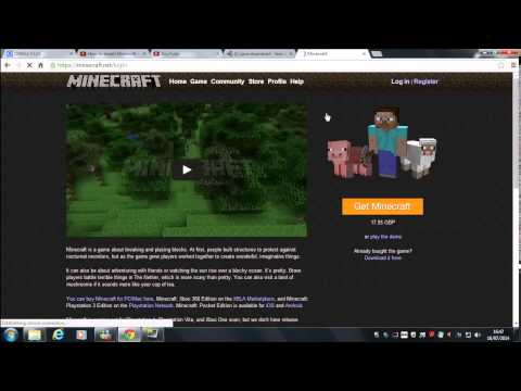 How to get your minecraft back for free ones you had deleted it