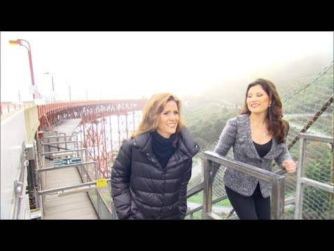 Watch This Woman Face Her Fear of Bridges By Going Over The Golden Gate