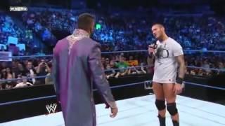 Randy Orton Doing R K O in Jinder Mahal.mp4 Only In Wrestling Legends