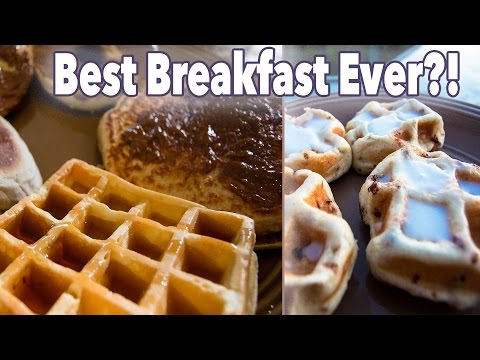 Full Day Of Eating ALL The Carbs - Dream Breakfast Cheat Meal