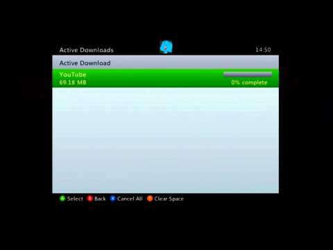 How to get the youtube app for XBOX 360