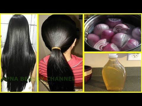 How To Grow Long and Thick Hair Naturally and Faster | Magical Hair Growth Treatment 100% Works