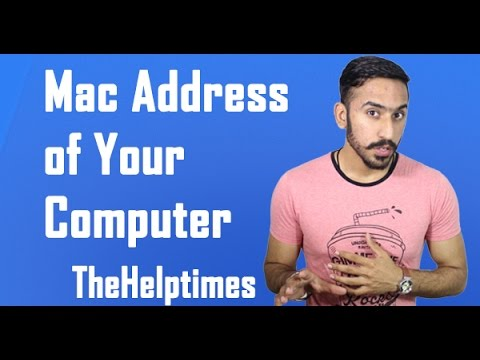 How to Find Mac Address of your Laptop/ Windows pc/ Android phone/ iphone and Mac Os
