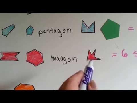 Grade 3 Math #12.3b, Names of Polygons