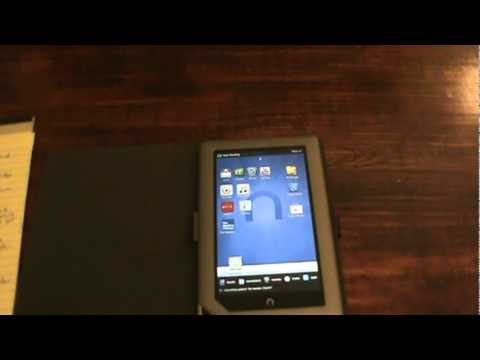 Nook Tablet Review 8GB Rooted