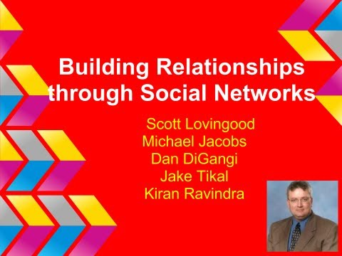 Building Business Relationships through Social Networking