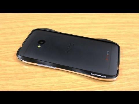Draco Design HTC One Aluminium Bumper Case Review