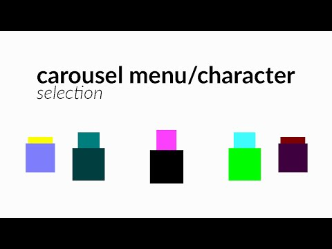 [Game Maker Tutorial] Carousel Menu/Character Selection