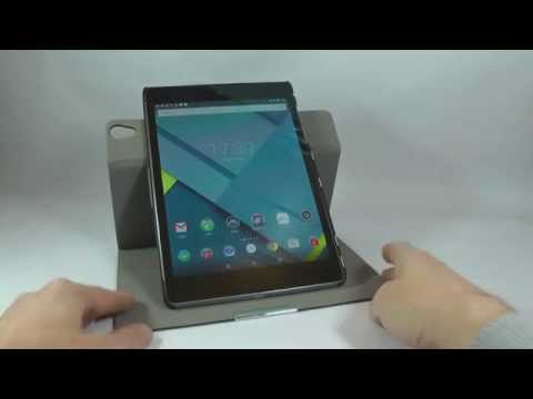Google Nexus 9 – IVSO Stand Cover with 360 Degree Rotation