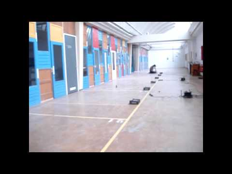 building a wall of sound using six bricks and some space