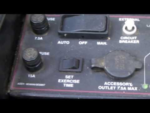 GENERAC 15 amp system fuse blown, NOT starter motor or solenoid, NOT starter solenoid