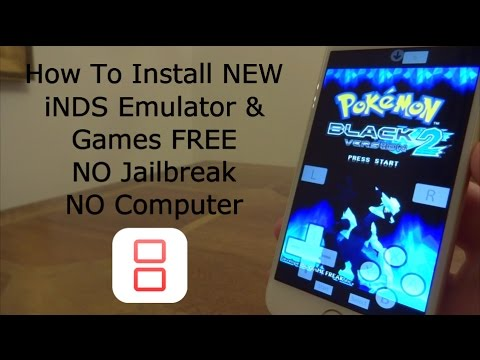 How To Install iNDS Nintendo DS & Games iOS 11 - 11.4 / 10 / 9 FREE NO Jailbreak iPhone iPad iPod