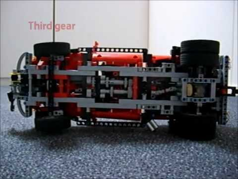 LEGO Pick-up truck with boat trailer