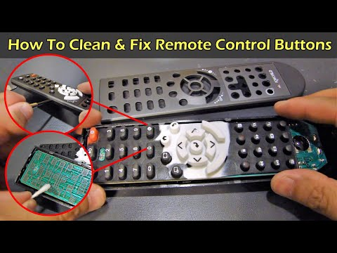 How to Fix and Clean Your Remote Control Buttons