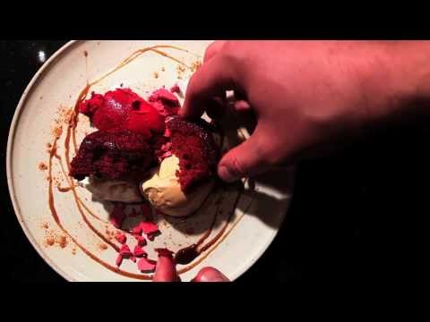 This Dish, Episode 3. James Knappett, Kitchen Table: beetroot, liquorice, sour cream.