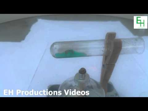 How to Make Copper Sulfate (From Copper Metal and Sodium Bisulfate)