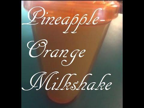 Pineapple-Orange Milkshake