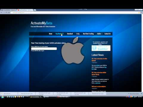 How to register your UDID and get iOS 7 Beta
