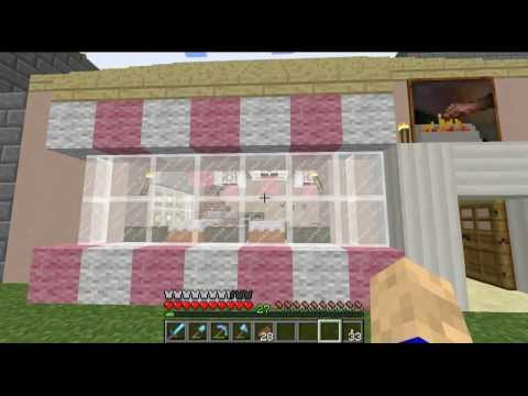 Minecraft Let's Build: Bakery