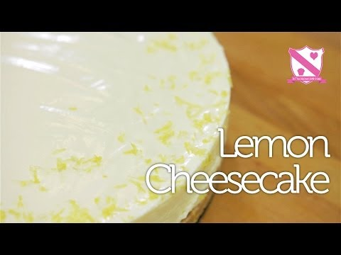 'No-bake' Lemon Cheesecake - In The Kitchen With Kate