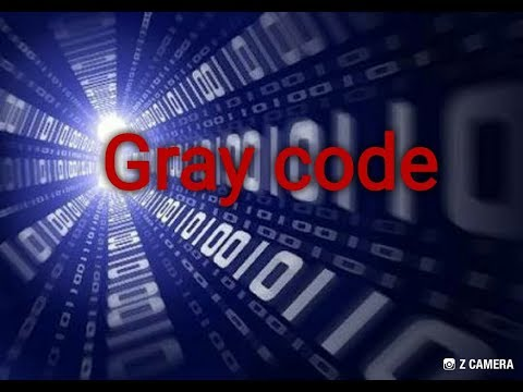 What is gray code / conversion of binary into gray and gray code into binary