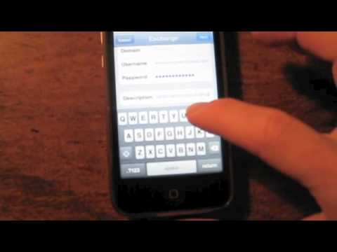 How to Setup Your Gmail as PUSH email on your iPhone/iPad Touch - www.ianbrown.cc/blog
