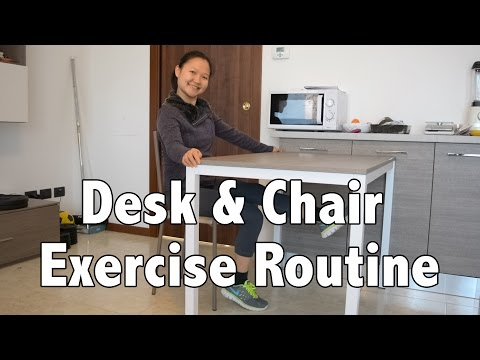 Office Desk & Chair Exercise Routine for Weight Loss & Health