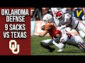 Oklahoma Defense Racks Up 9 Sacks In Dominant Performance In The Red River Showdown
